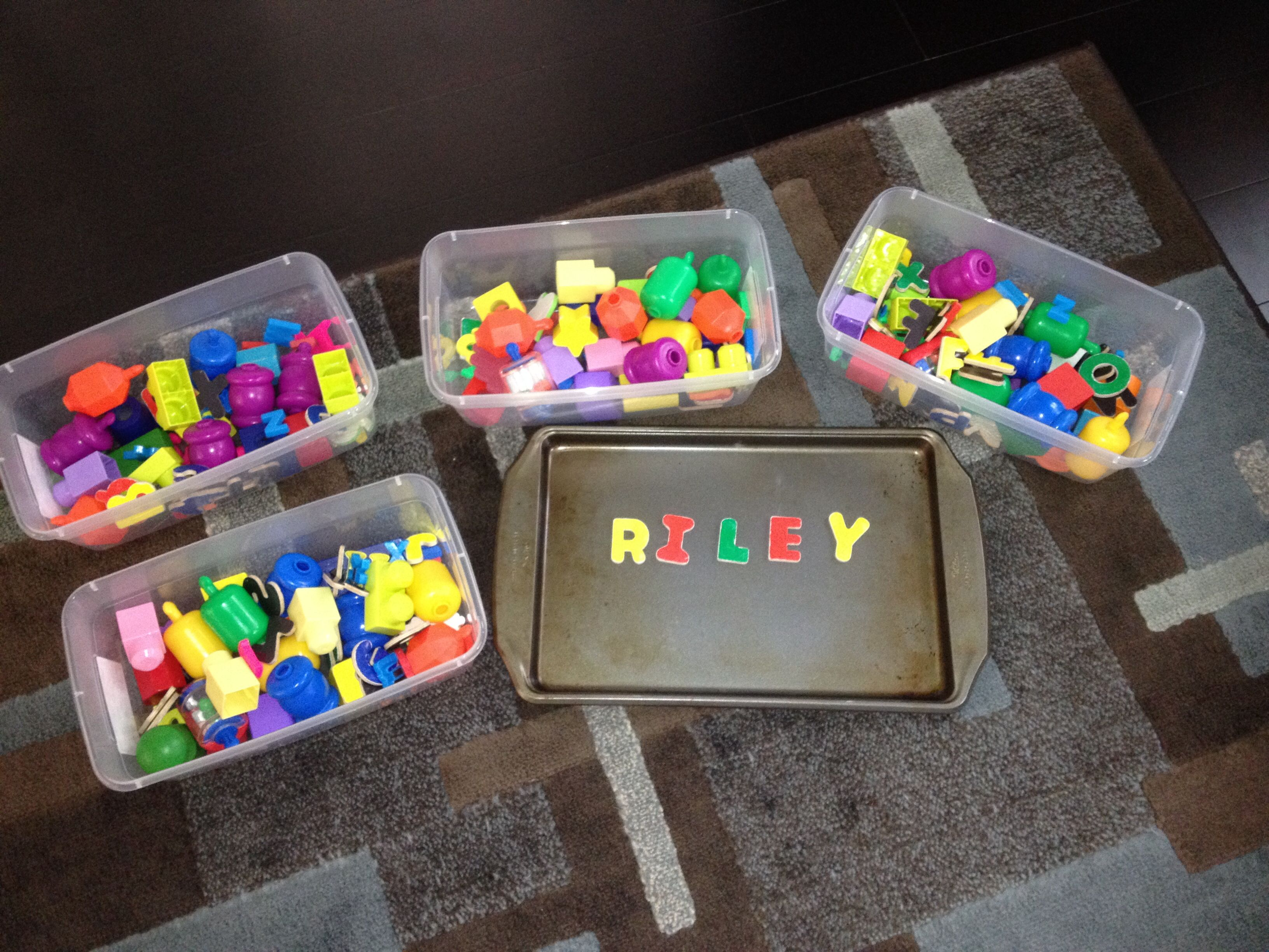 Baby Shower Game Spell The Baby S Name With Magnetic