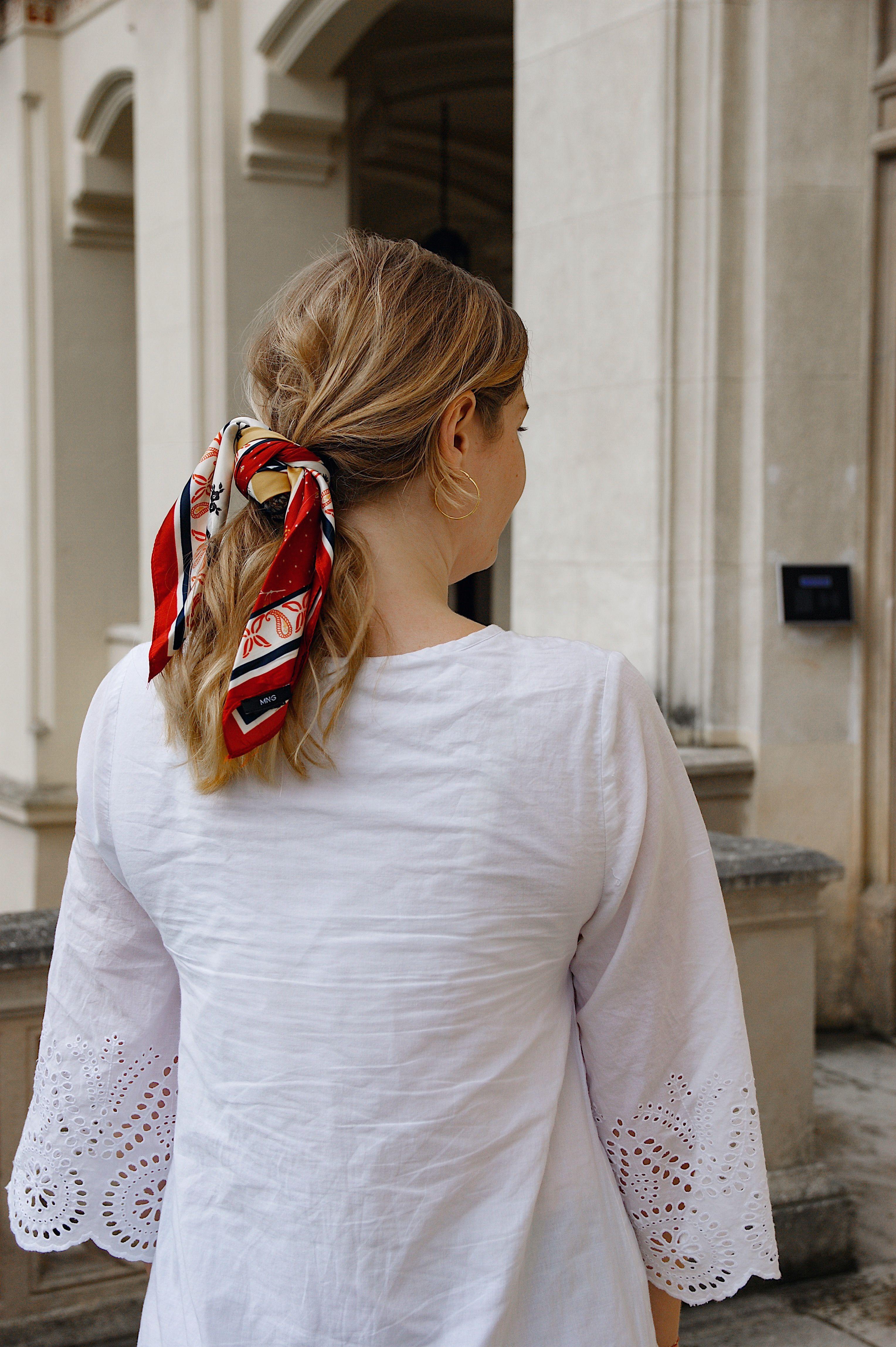 Haartrends 2020 Schal Frisuren Frisuren Haartuch