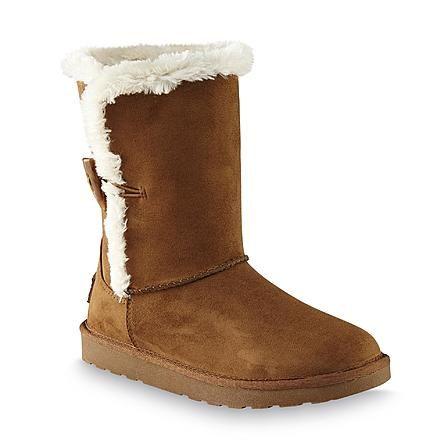 a92fb003c5a Kmart: Joe Boxer Women's Romy Brown Cozy Boots Only $16.99 (Reg ...
