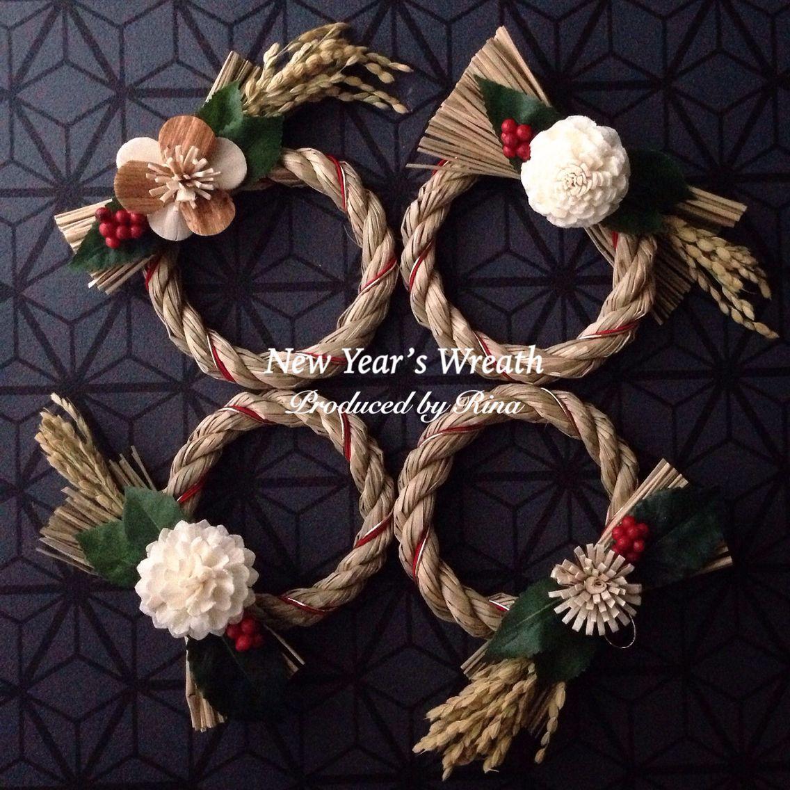 2016 New Year's Wreath φ8㎝