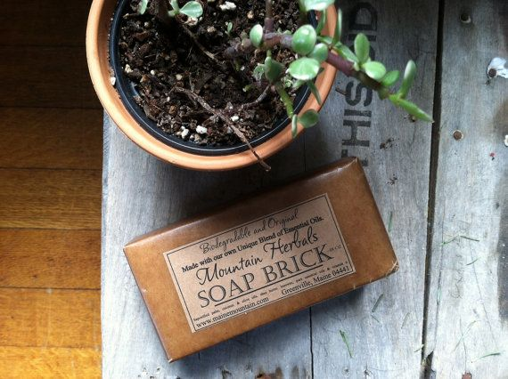 18Oz. All Natural Soap Brick by MaineMountain on Etsy, $20.00