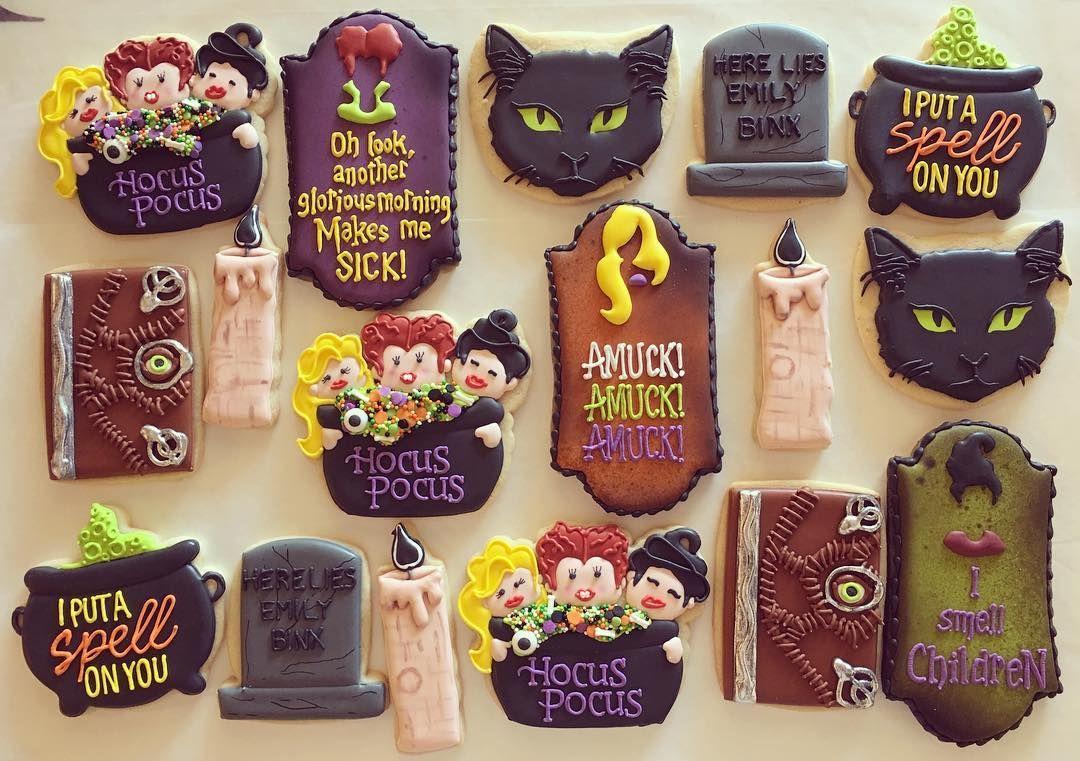 Hocus Pocus Cookie Sanderson sisters Cookie decorating