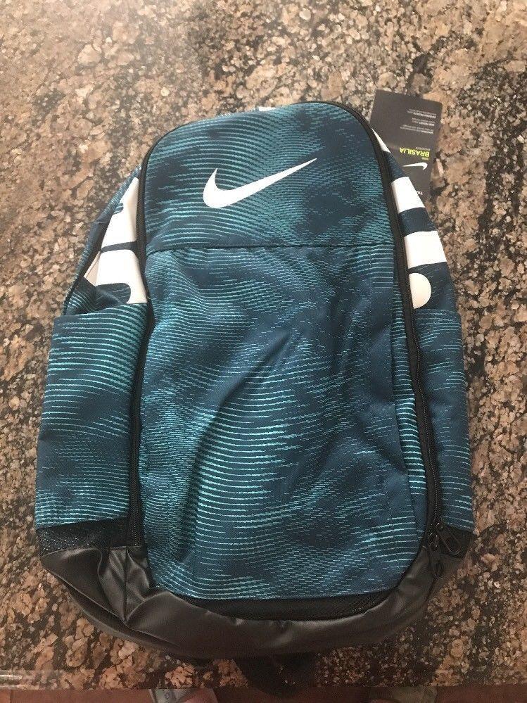05e7c6b197 NIKE Brasilia XL II Backpack Aqua BA5482 494 School Bag Book Bag Lap Top   Nike  Backpack