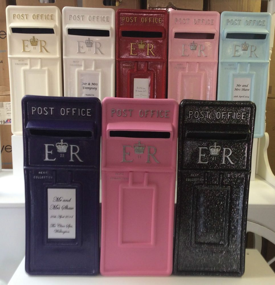 For Hire Royal Mail Card Post Box Cream White Pink Wedding Party Postbox Essex In Home Furniture Diy Wedding Supplie Post Box Post Box Red Wedding Post Box