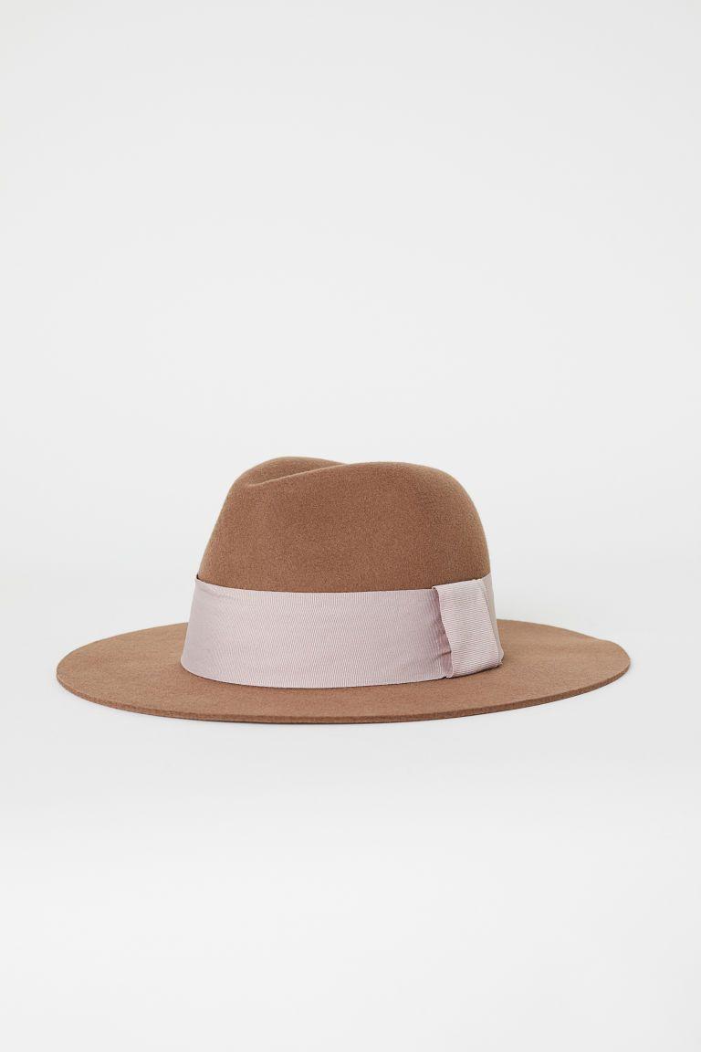 1b224f602 Felted Wool Hat   Androgynine Attire   Hats, Hats for women, Wool Felt