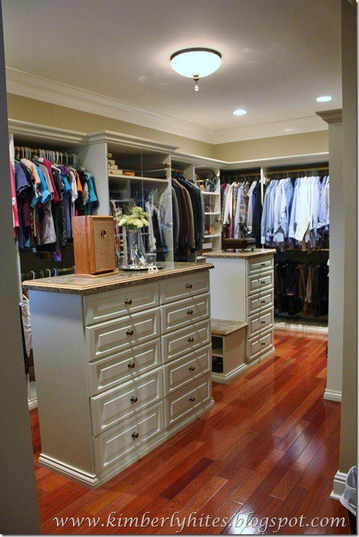 Fabulous closet shared on savvy southern style decor for Southern closets