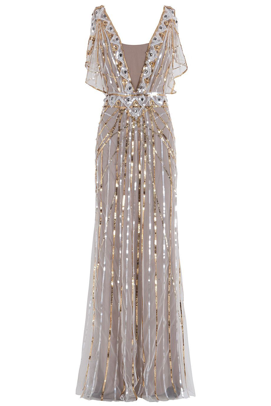 TEMPERLEY LONDON Sequin Gown