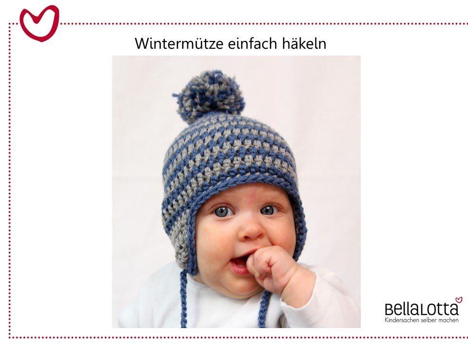 Häkelmütze Für Babys Einfach Häkeln Für Anfänger Häckeln