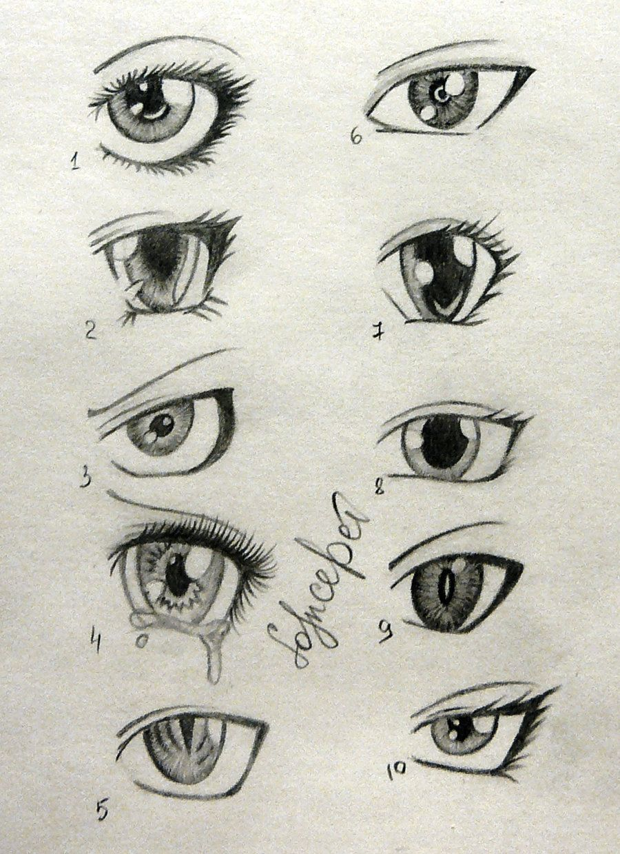 sketch of anime boys eyes Buscar con Google Anime eye