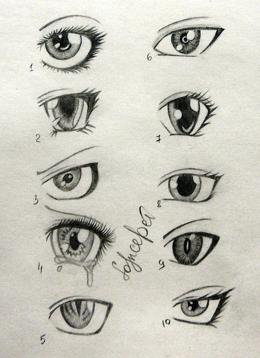 sketch of anime boys eyes Buscar con Google Anime eye