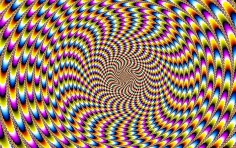 Spins & Spirals | Optical illusion gif, Illusions, Art ...