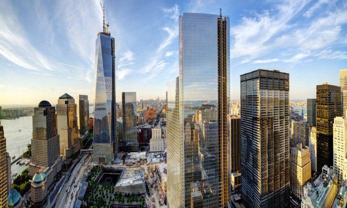 Cool Hd Skyscraper Glass Buildings Wallpaper Full Hd About Wallpapers Image With Hd Skyscraper Glass New York Pictures New York Wallpaper New York Buildings