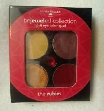 LAURA GELLER BEJEWELED COLLECTION LIP & EYE (THE RUBIES) FREE SHIPPING!  $20