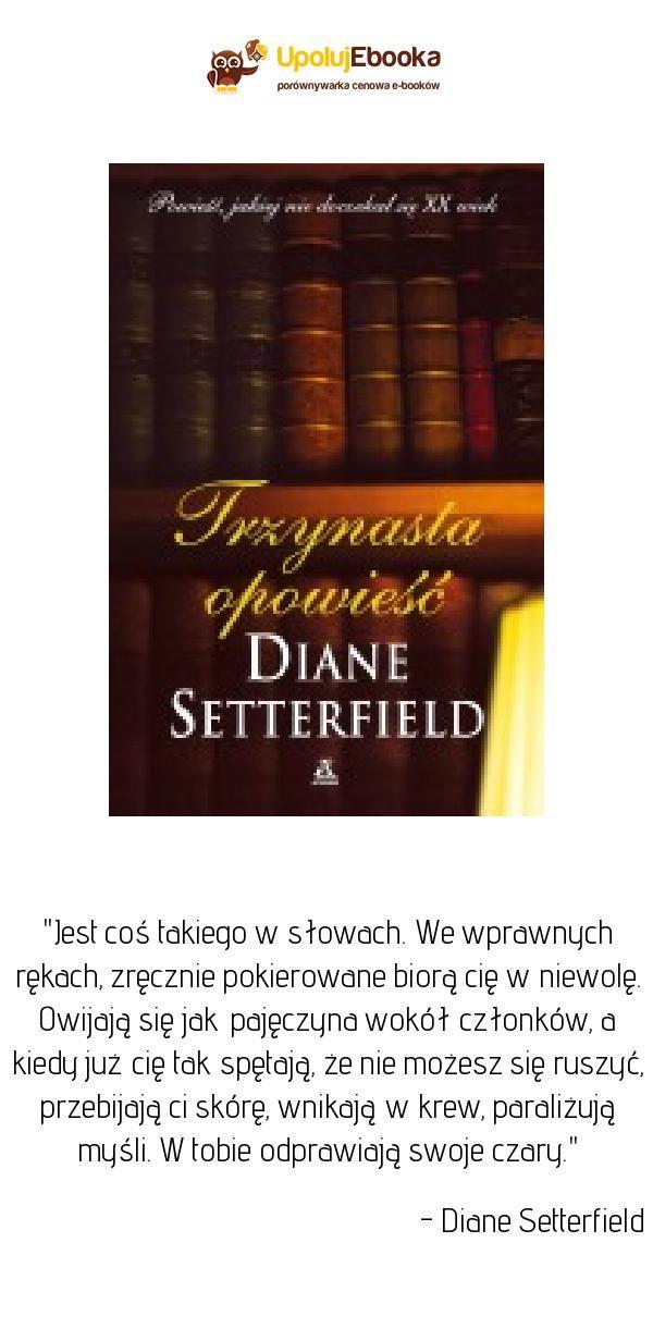 Trzynasta Opowieść Diane Setterfield Ebook Książka