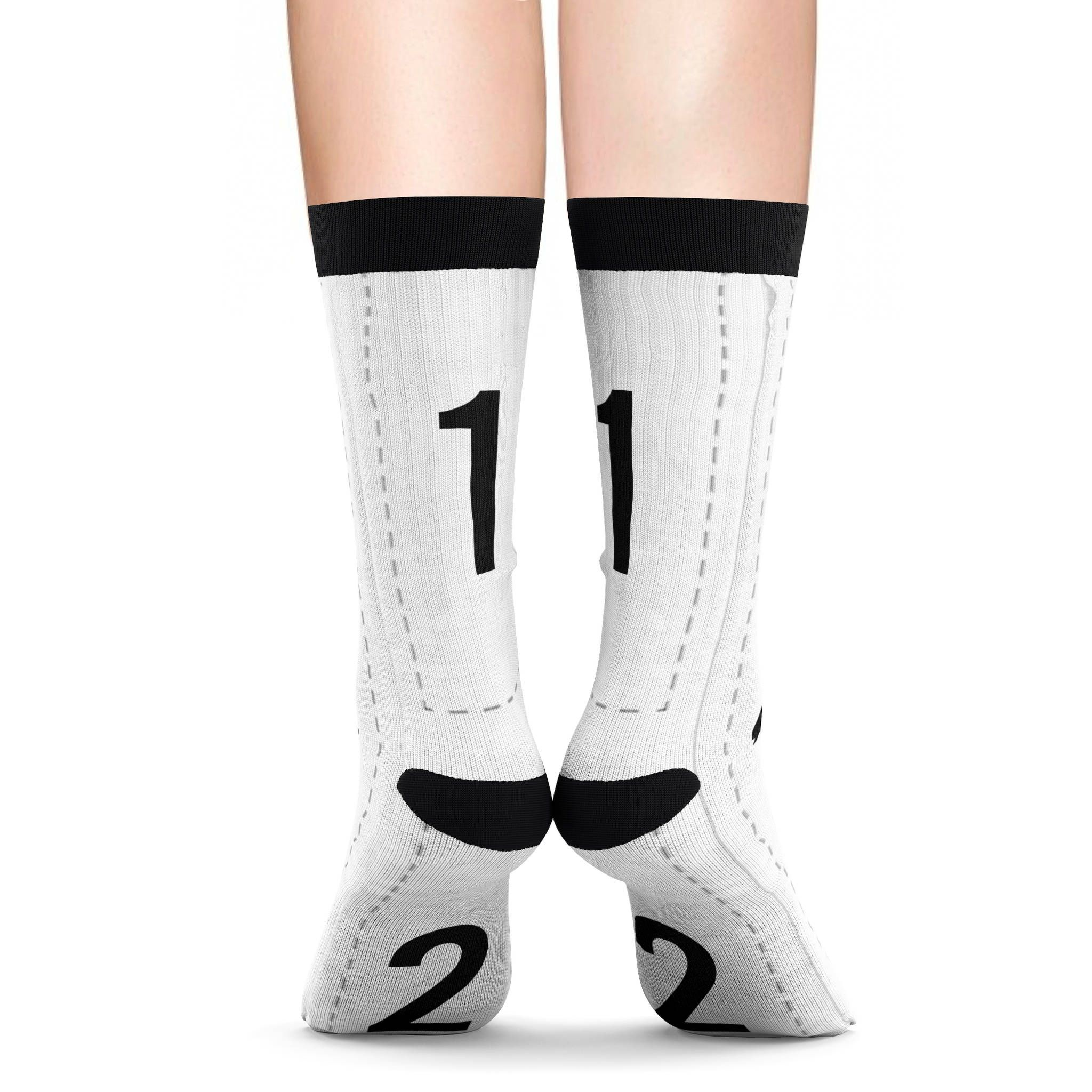 Personalized Sublimation Socks socks with face on it