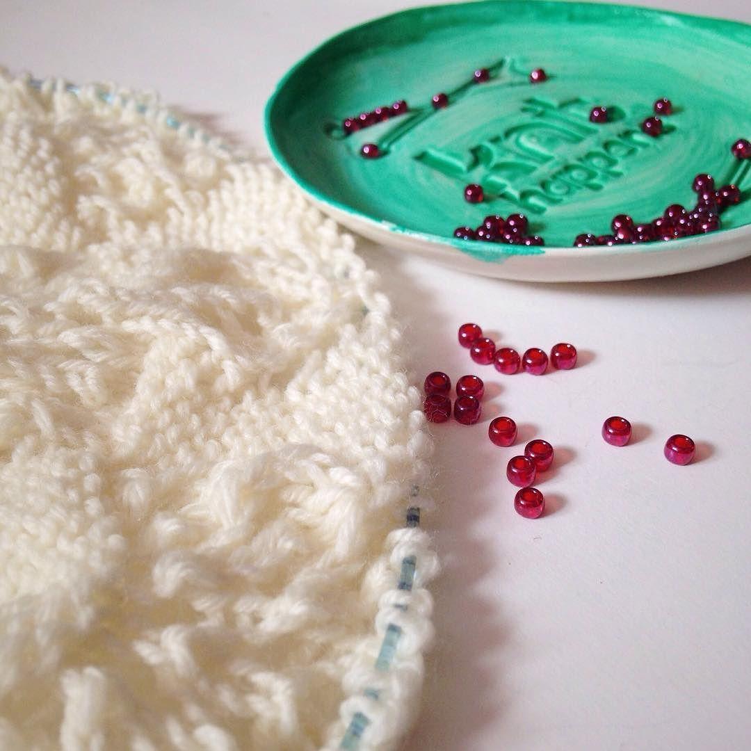 Let the beading commence! #littlenutmegproductions #meghanjoneslnmp #makersofinstagram #knittingpattern #knittersofig #knittingaddict #knits #knitted #knit #knits #knitlove #knittersoftheworld #knittersofinstagram #design #designer #knitdesign #knitdesigner #knitting_inspiration #knitspiration #knitstagram #lace #best_knitters #laceknitting #beadedlace