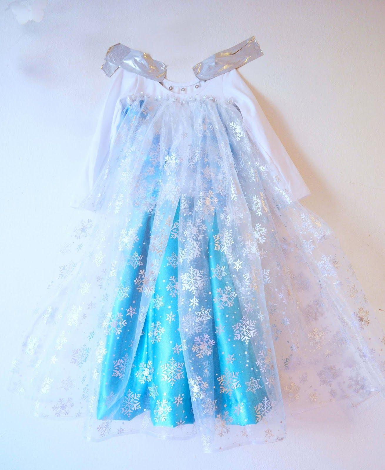 Tutorial Disfraz de niña Princesa Elsa FROZEN DISNEY | disfraces ...