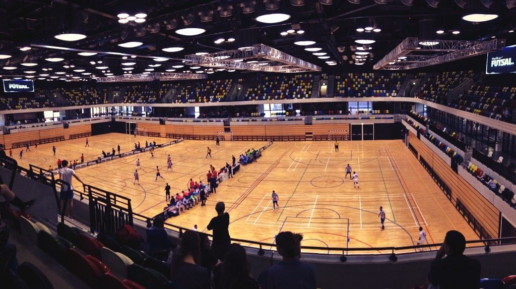 Copperbox arena for the FA Futsal National Cup (mit Bildern)