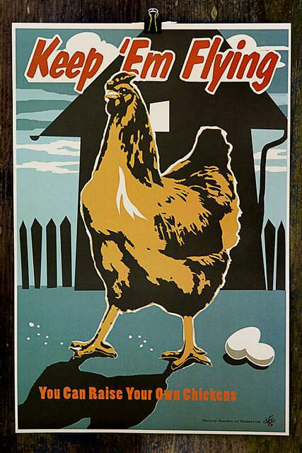 Art Print Hen And Chicken Poster Wwii Print 8 X 10 Products