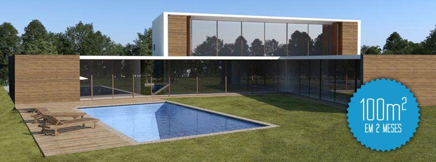 Criatus casas modulares empresas constru es modulares - Casas de modulos ...