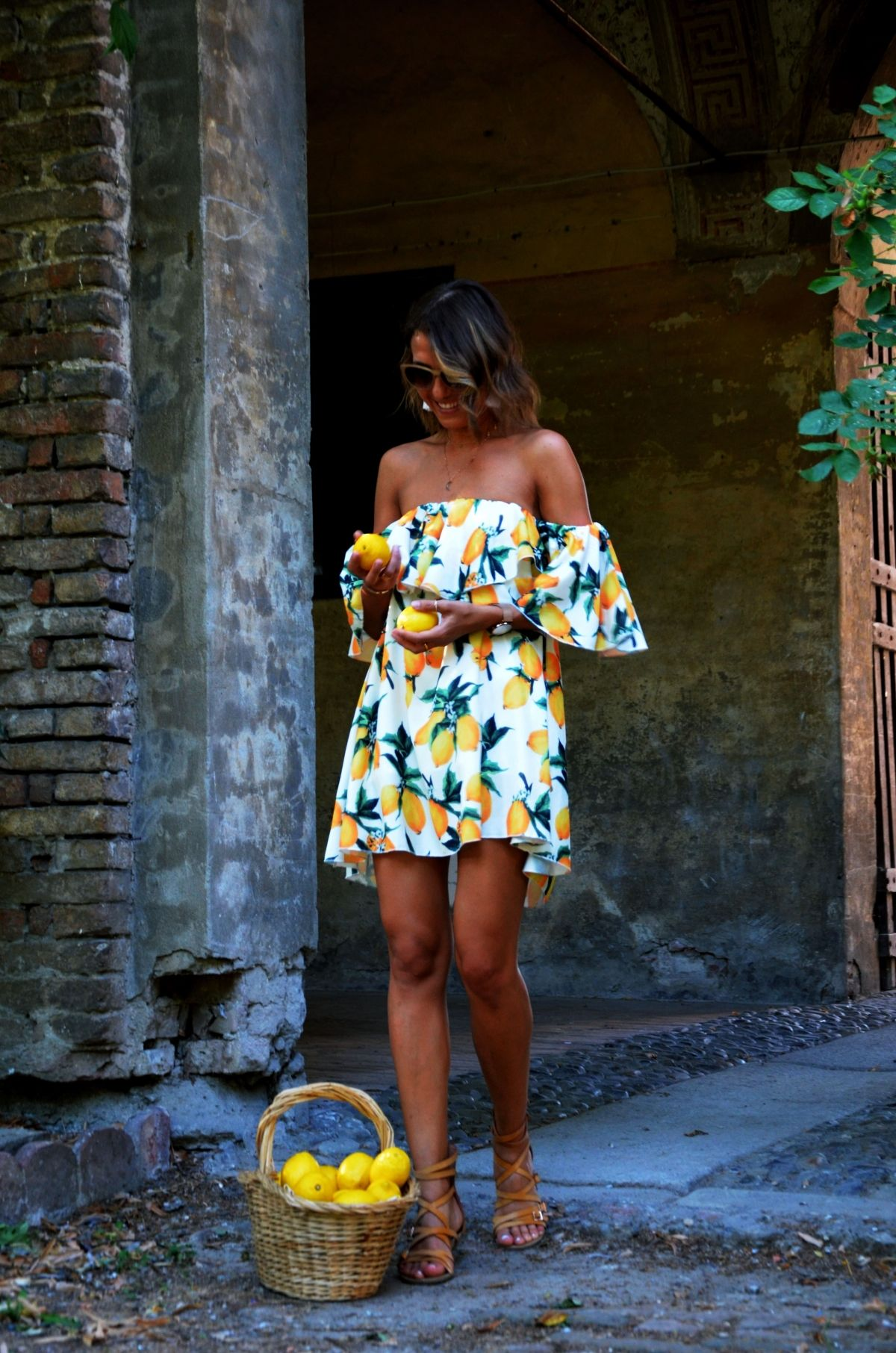 Lemon dresscristina surdu zaful fashion pinterest summer
