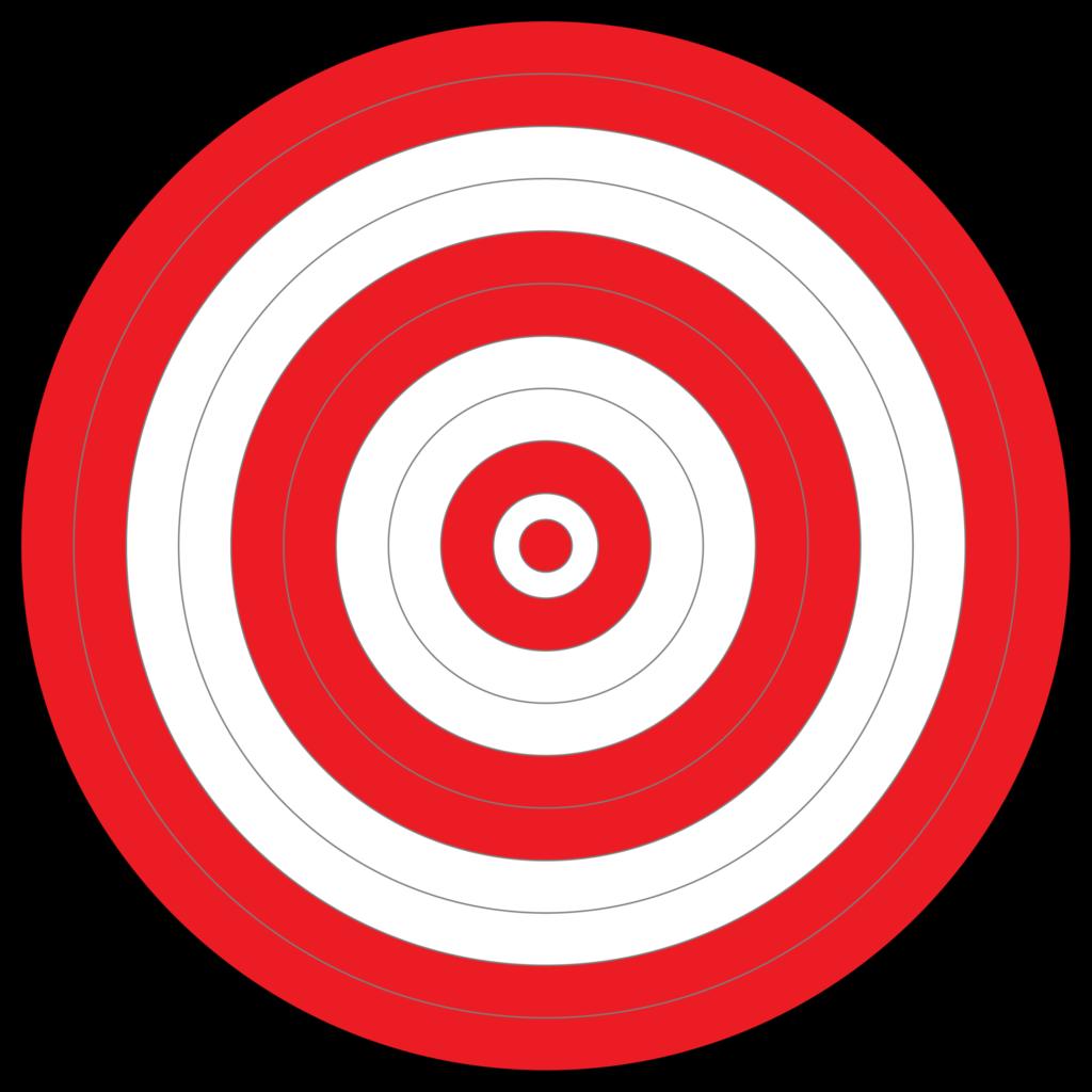 All Red Bullseye Target Easy Eye Outdoors Clipart Best Bullseye Target Clip Art Bullseye