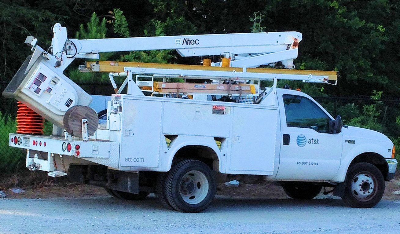 ATT Field Technician Bucket Truck (Jun2014).   Telecom   Pinterest
