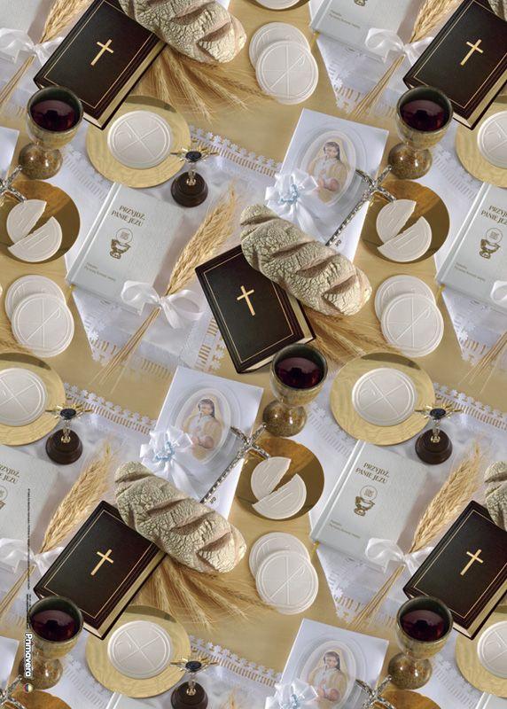 Papel de regalo c liz unisex primera comuni n primeras for Decoracion de velas para bautizo
