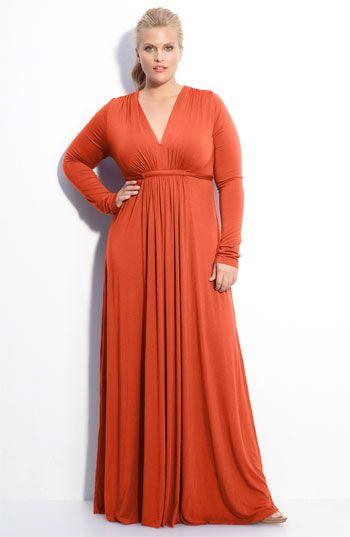 b67a5a76e88fa Rachel Pally Long Sleeve Maxi Dress (Plus) available at  Nordstrom ...