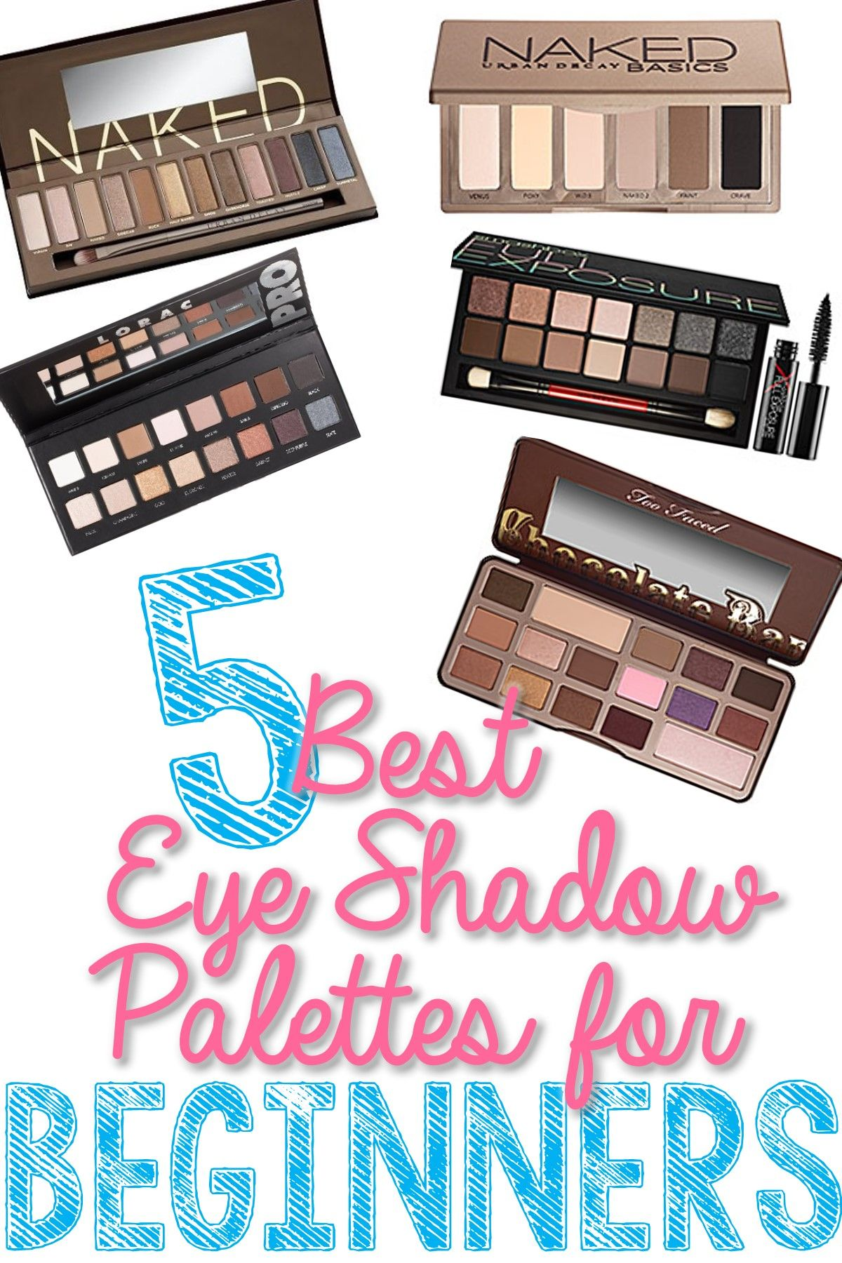 Best Eye Shadow Palettes for Beginners These are great