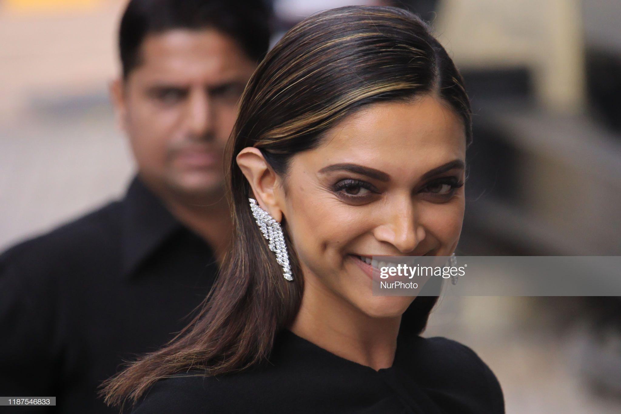 News Photo Indian Actress Deepika Padukone Arrives For A Deepika Padukone Actresses Indian Actresses