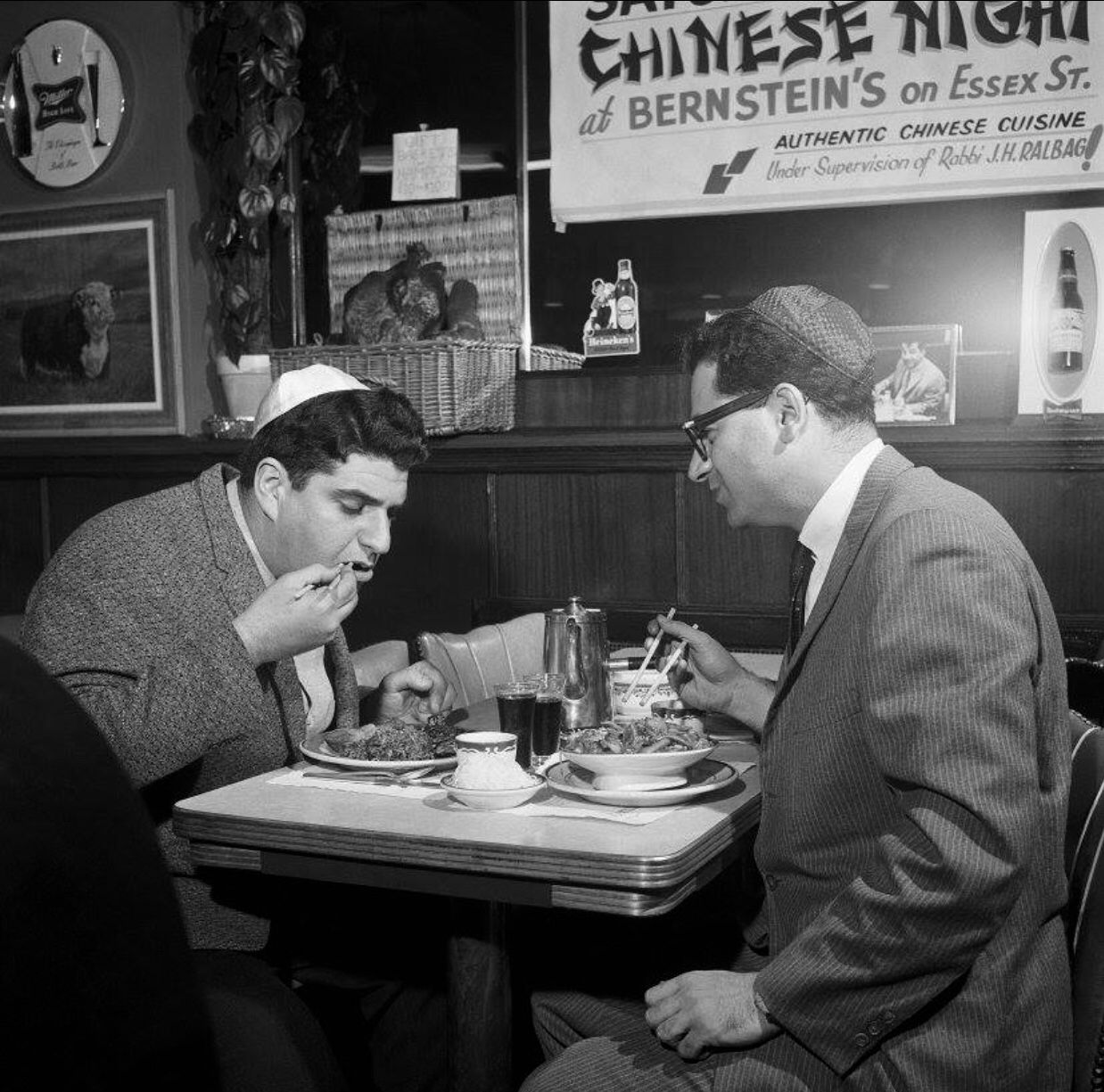 1960s A New York City Christmas tradition originating from the 1890s, Jewish New Yorkers are ...