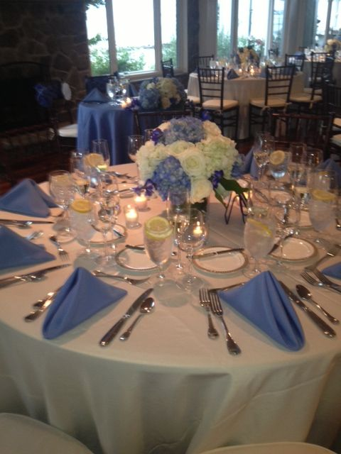 Periwinkle Wedding Blue Wedding Receptions Periwinkle