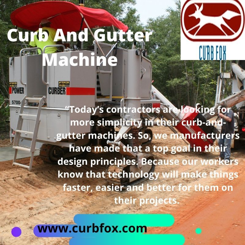 Curb And Gutter Machine Gutter Printing Business Cards Curbing