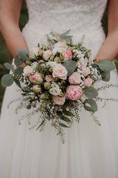 Bridal bouquet eucalyptus fall autumn  Herbsthochzeit – Heiraten im Herbst – fal…