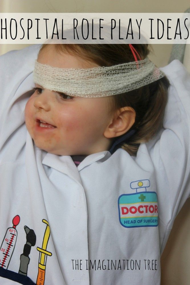 The Role Of Imaginative Play In Life Of >> Hospital Role Play Ideas Fun With Daycare Child Life