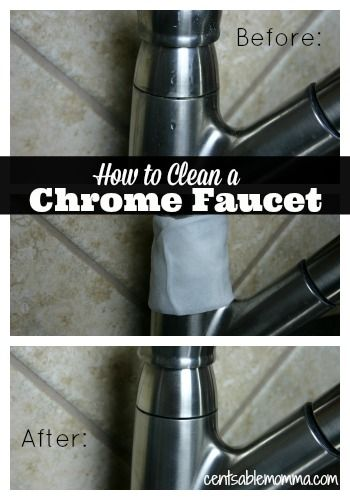 how to clean a chrome faucet cleanses stains and 17771