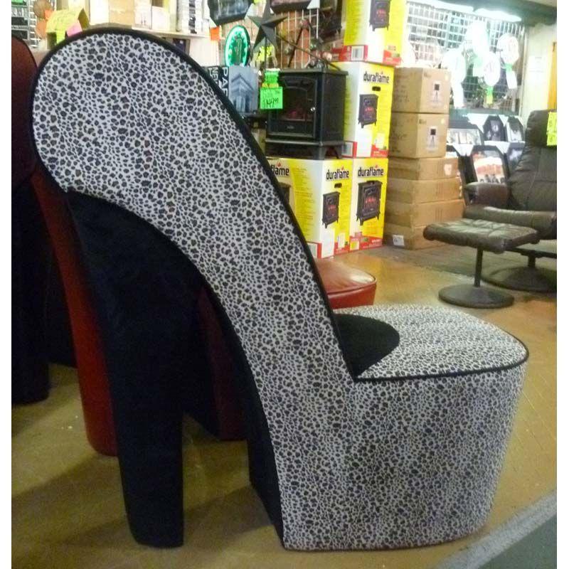 High Heel Shoe Chair Furniture - Jallen.net