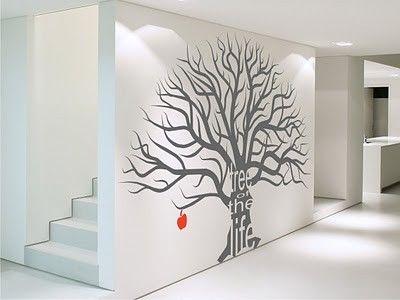 grafica de pared pintura decorativa Pinterest Vinilos