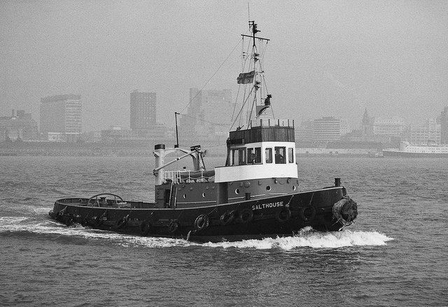 Salthouse On The River Tugboats Tug Boats Boat River