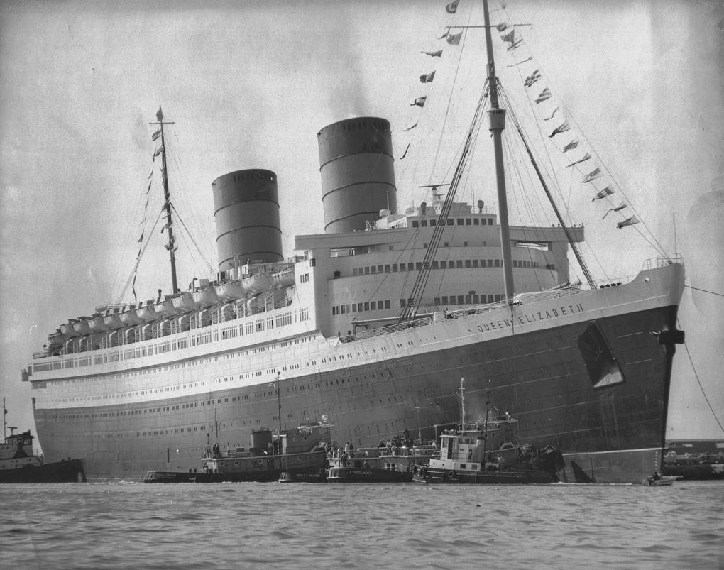 Cunard Line S Rms Queen Elizabeth Rms Queen Elizabeth Cunard Line Cunard Cruise