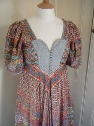 Rare-AnnaBelinda-Hippy-Maxi-Dress-True-1970s-Vintage-and-SILK-Anna-Belinda