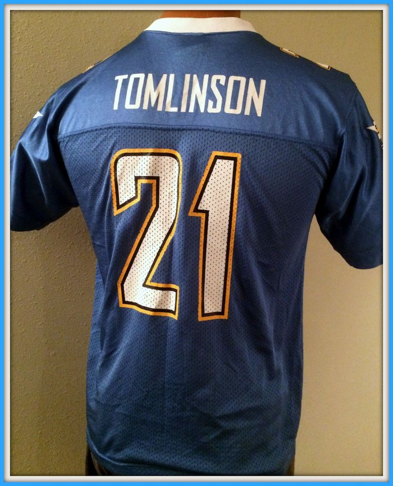 35fc0eb32 San diego chargers reebok ladainian tomlinson youth xlarge replica jersey