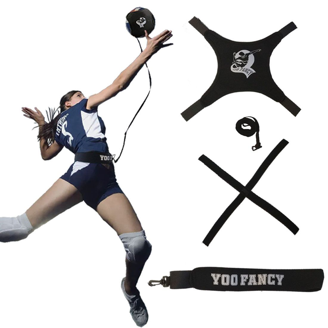 Do You Like Playing Volleyball This Volleyball Training Equipment Makes Solo Training A W Volleyball Training Volleyball Training Equipment Training Equipment