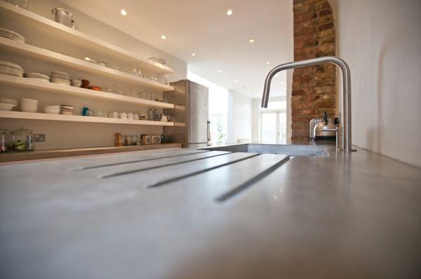 Küchenarbeitsplatten Aus Beton arbeitsplatte mit betonoptik küchenarbeitsplatten aus beton
