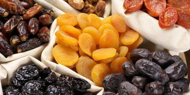 Fruits séchés, fruits frais, l'équation calories..