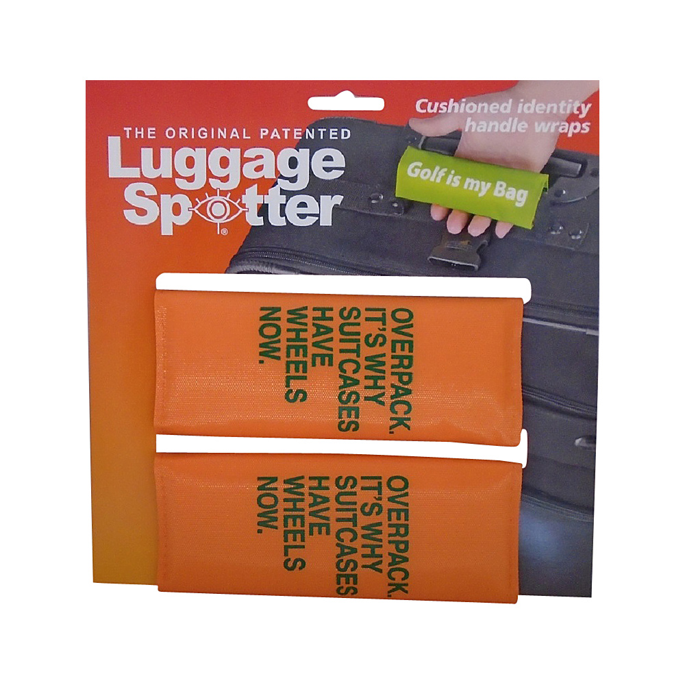 Fun Sayings 2 Pack Luggage Spotter