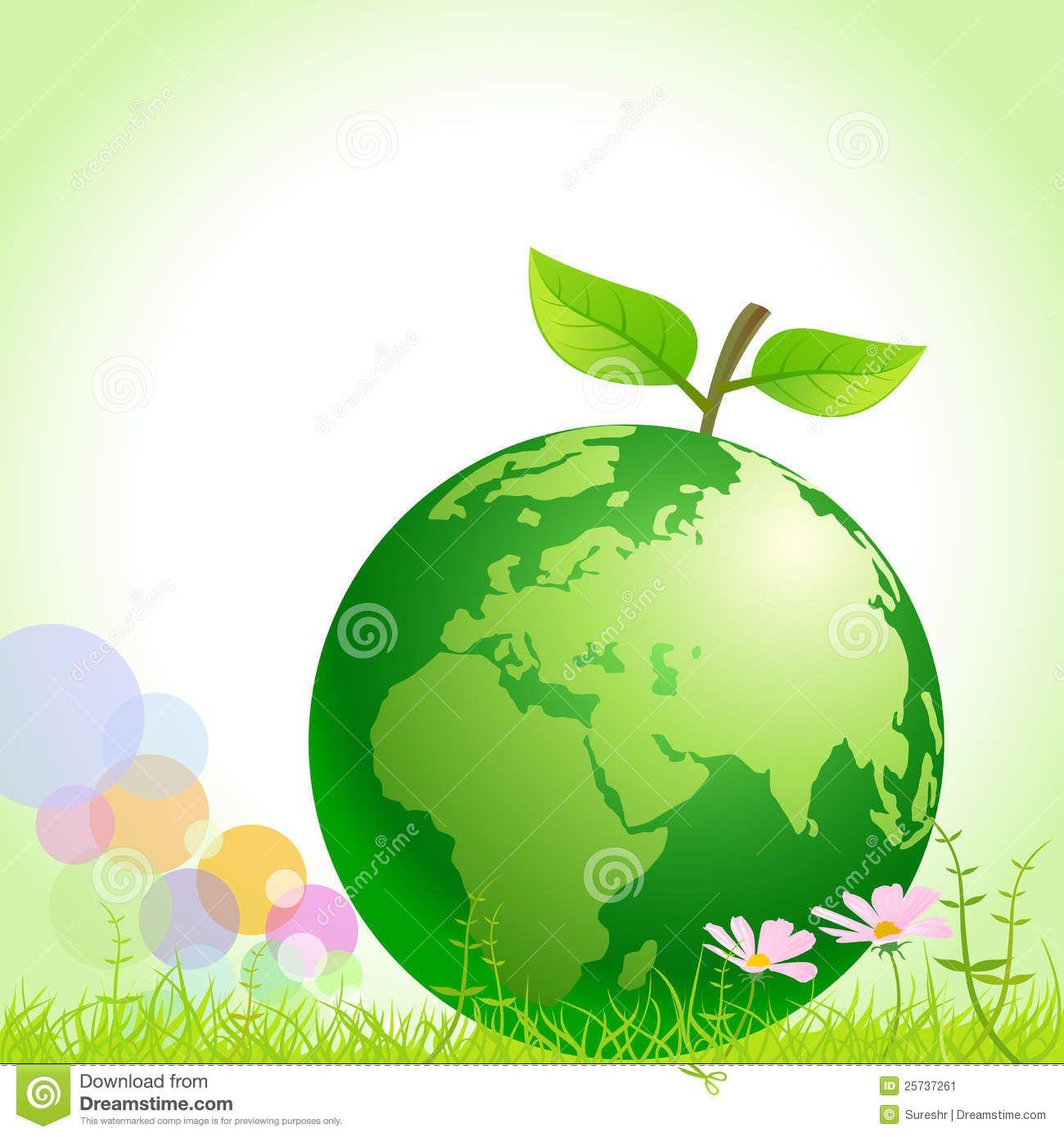 Green Earth Save Environment Stock Save Environment Environment Save Our Earth