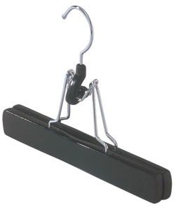 Trouser Clamp Hangers -Set of 18 0075310-6 by Richards Homewares