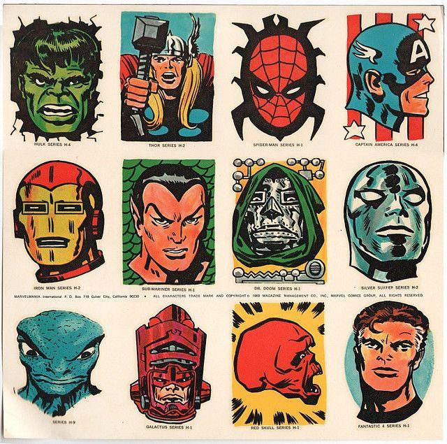 Retro Marvel